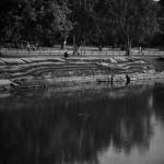 Angkor Wat temple moat