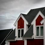 Nuuk suburbia #4 - Attic roofs