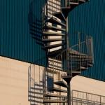Nuuk metal staircase