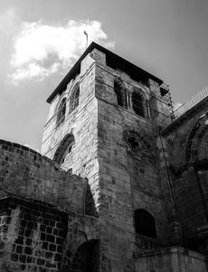 Church of the Holy Sepulchre - outside tower