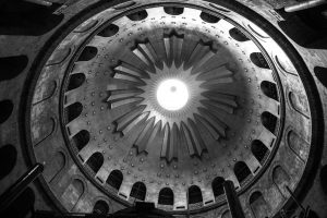 Church of the Holy Sepulchre - main dome inside