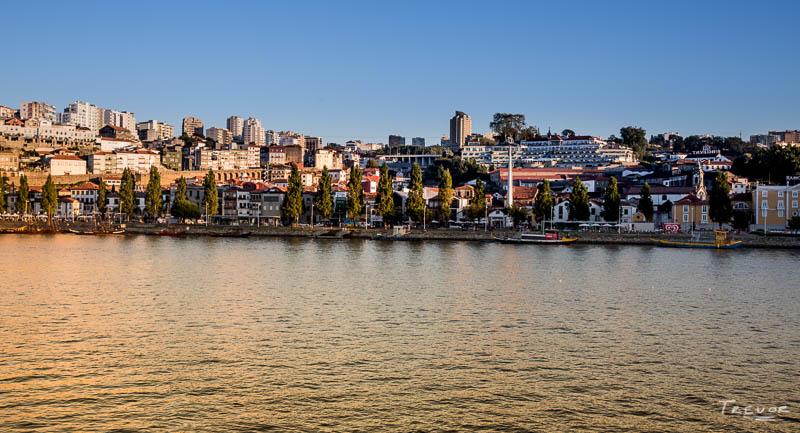Setting sun - Porto